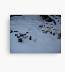 Battle of hoth Canvas Print