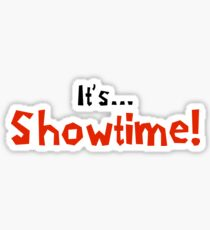 Showtime Sticker