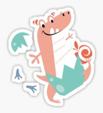 Baby T-Rex Sticker