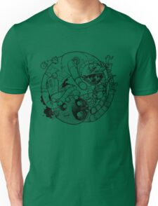 The Yin-Yang Robo Fight! T-Shirt