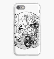 The Yin-Yang Robo Fight! iPhone Case/Skin