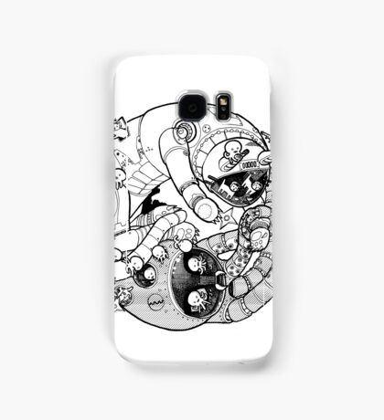 The Yin-Yang Robo Fight! Samsung Galaxy Case/Skin