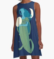 Moonlight Mermaid A-Line Dress