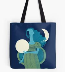 Moonlight Mermaid Tote Bag
