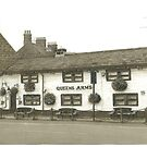 Horsforth Leeds Queen's Arms by Brian Hargreaves