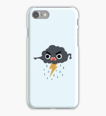 Grumpy Cloud iPhone Case/Skin