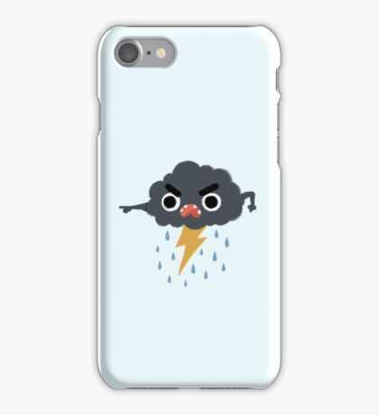 Grumpy Cloud iPhone Case/Skin
