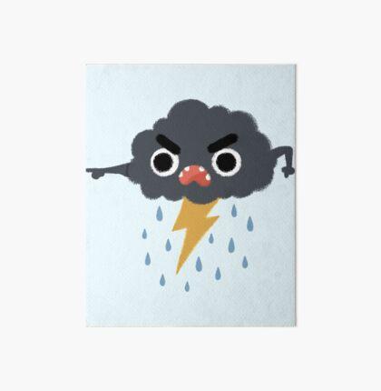 Grumpy Cloud Art Board