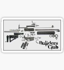 AR-15 Bulders Club Sticker