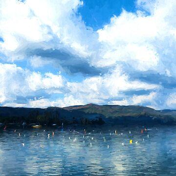 Lake Background by savage1