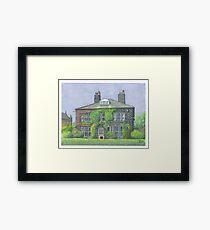 Horsforth Leeds Old Vicarage Framed Print