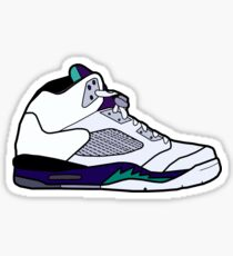 Grape 5 Sticker