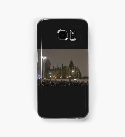 East Block - Parliament Hill, Ottawa, NY eve Samsung Galaxy Case/Skin