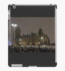 East Block - Parliament Hill, Ottawa, NY eve iPad Case/Skin