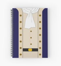 Hamilton Clothes Spiral Notebook