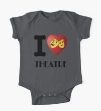 I Heart Theatre One Piece - Short Sleeve