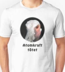 Saruskranich gegen Atomkraft Unisex T-Shirt