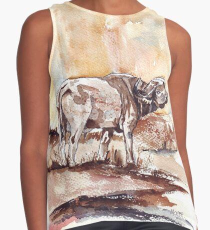 African Buffalo Sleeveless Top