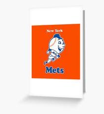 New York Mets Greeting Card