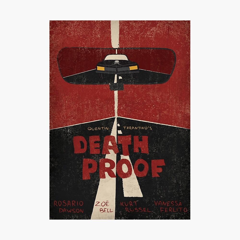 Todesbeweis Filmplakat Fotodruck