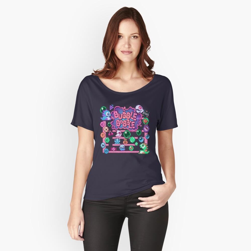Bobble Bubble Women's Relaxed Fit T-Shirt Front