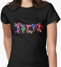 Star Guardian Skins Womens Fitted T-Shirt