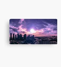 Mississauga City Hall / CityScape Pano Canvas Print