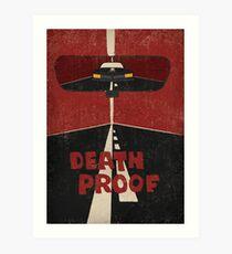 Todesbeweis Filmplakat / Keine Titel / Kunstdruck