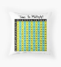 Time to Multiply! Throw Pillow