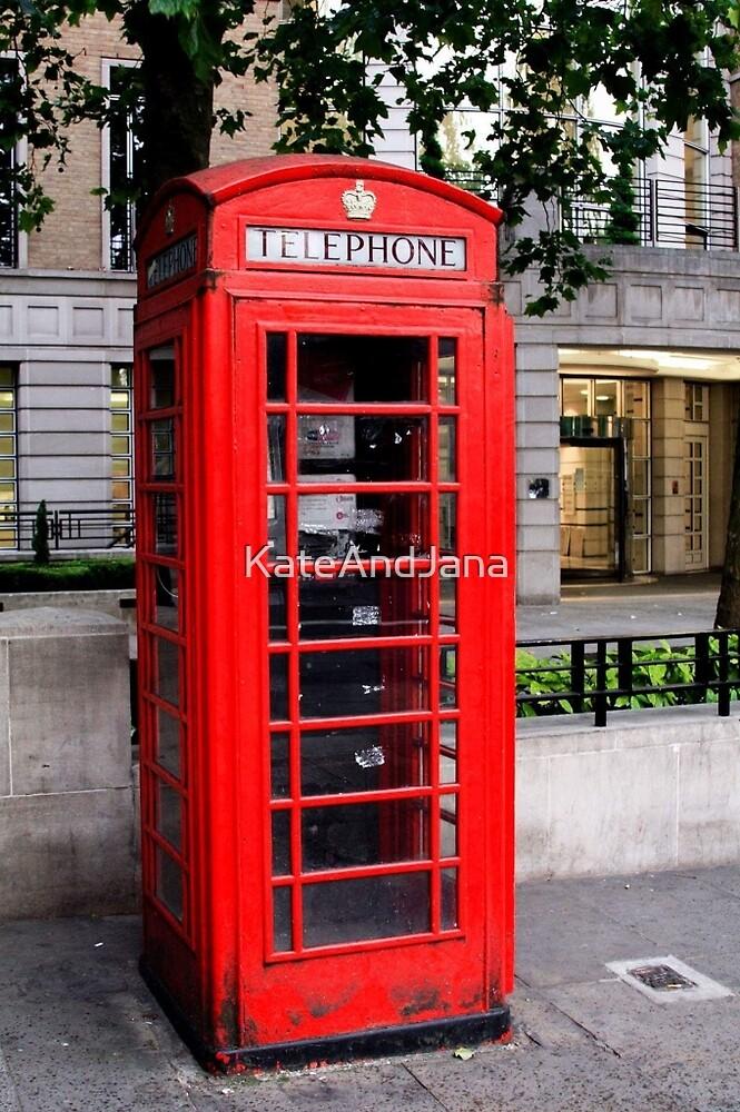 London Telephone by KateAndJana