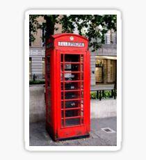London Telephone Sticker
