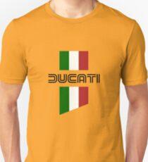 ducati, logo, flag Unisex T-Shirt