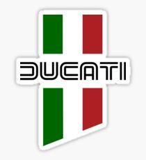 ducati, logo, flag Sticker