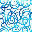 Azure lines by Losenko  Mila