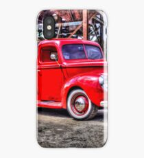 Red truck iPhone Case/Skin