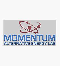 Momentum Alternative Energy Lab Photographic Print