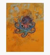 Baby Octopus Photographic Print
