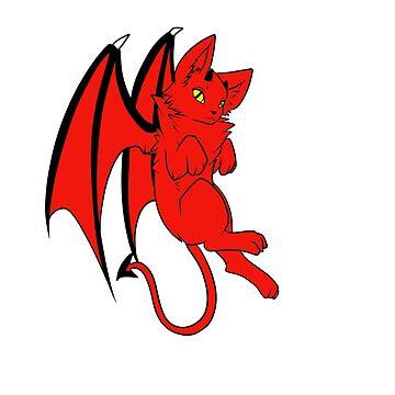 Devil Kitty by Raythebishie