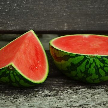 Cut Watermelon by lollly