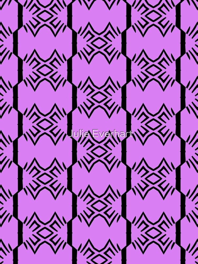 Lavender and Black Design by Julie Everhart by julev69