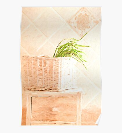 Wild Asparagus Provence Style Poster