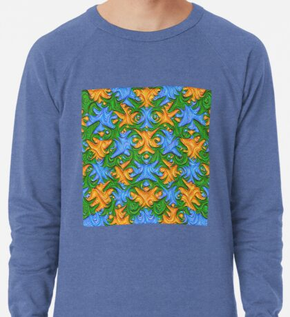 Frozen chanterelles #DeepDream #Art Lightweight Sweatshirt