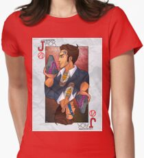 Handsome Jack card Women's Fitted T-Shirt