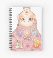 Bubbly Spiral Notebook