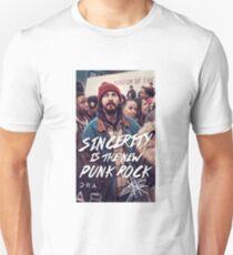 Sincerity is the new punk rock -Shia Labeouf Unisex T-Shirt