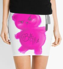 Angry Gummy Bear Mini Skirt