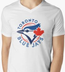 Toronto Blue Jays Men's V-Neck T-Shirt
