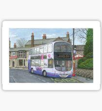 Horsforth Leeds Bus Sticker
