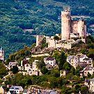 Chateau de Najac by Rob Lewis