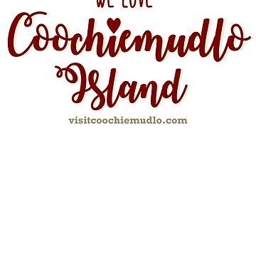 Coochiemudlo Island - love (red) by coochiemudlo